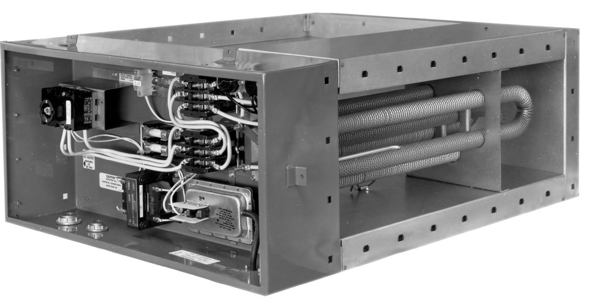 Marine Duct Heater with Side Mount Terminal Box
