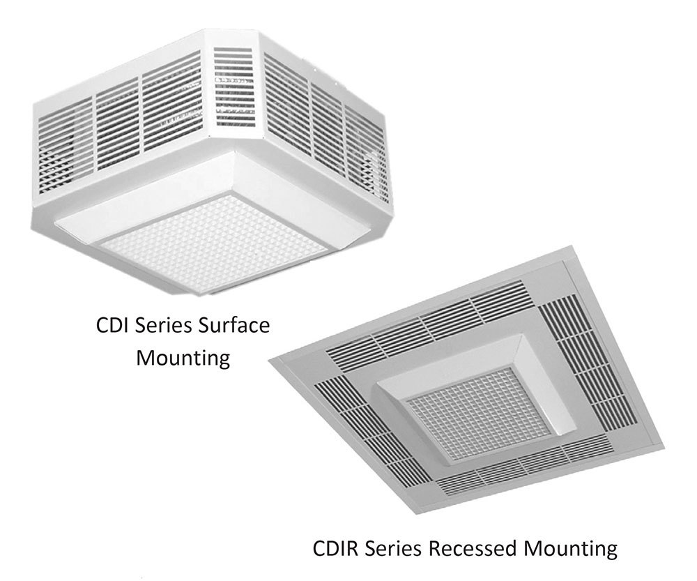 CDI/CDIR Series Fan-Forced Ceiling Heater