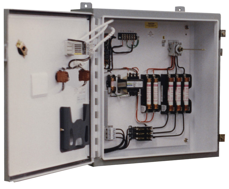 870 Series SCR Control Panel - Open