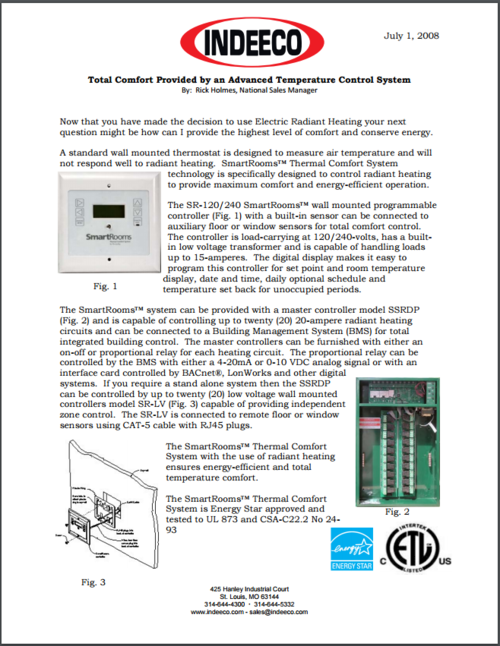 Advanced Temperature Control Systems