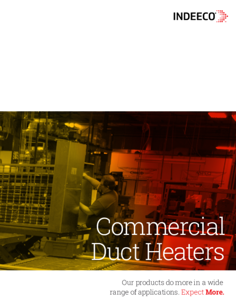 C10-20-5 Duct Heater Catalog