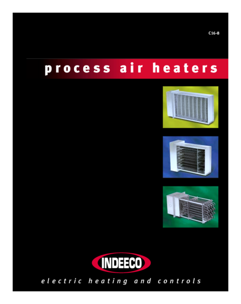 Process Air Heaters