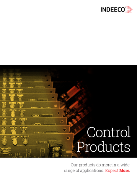 Control Products Brochure